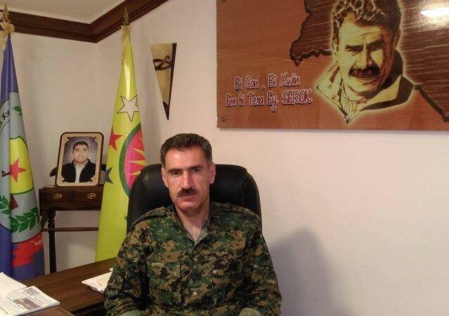 Abdo Ibrahim, ministre de la Défence du district kurde d'Afrin