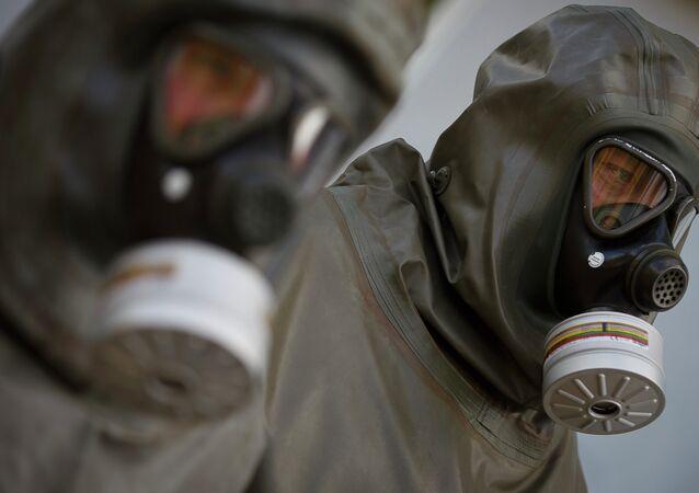 Un dispositif de protection contre les armes chimiques
