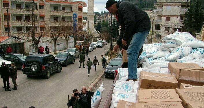Les habitants de la ville syrienne de Kessab reçoivent une aide de Moscou et de Damas