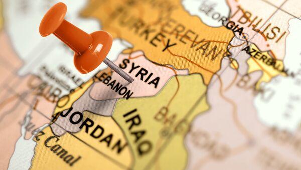 Karta över Mellanöstern - Sputnik France
