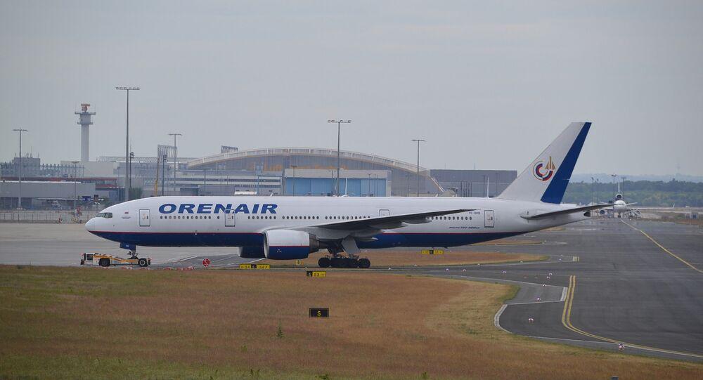Boeing 777/2 d'Orenair (archives)