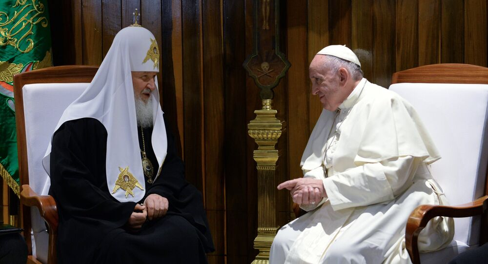 Pape François et Patriarche Cyrille
