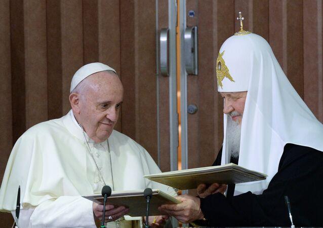 Patriarche Kirill et pape François