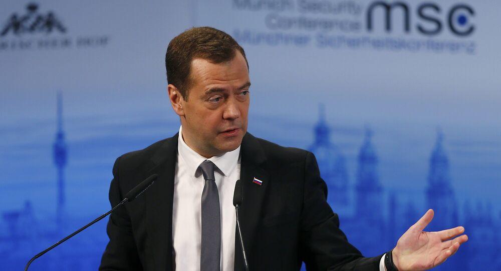 Dmitri Medvedev à Munich