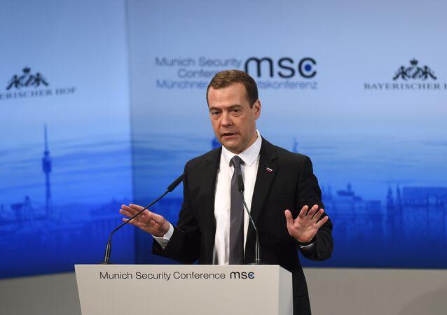 Dmitri Medvedev s'exprime à l'occasion de la Conférence sur la sécurité de Munich