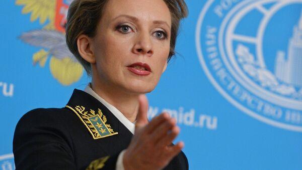Maria Zakharova, porte-parole du ministère russe des Affaires étrangères - Sputnik France