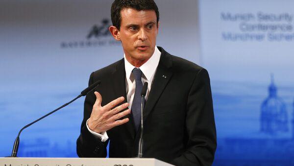 Manuel Valls lors de la Conférence sur la sécurité de Munich - Sputnik France