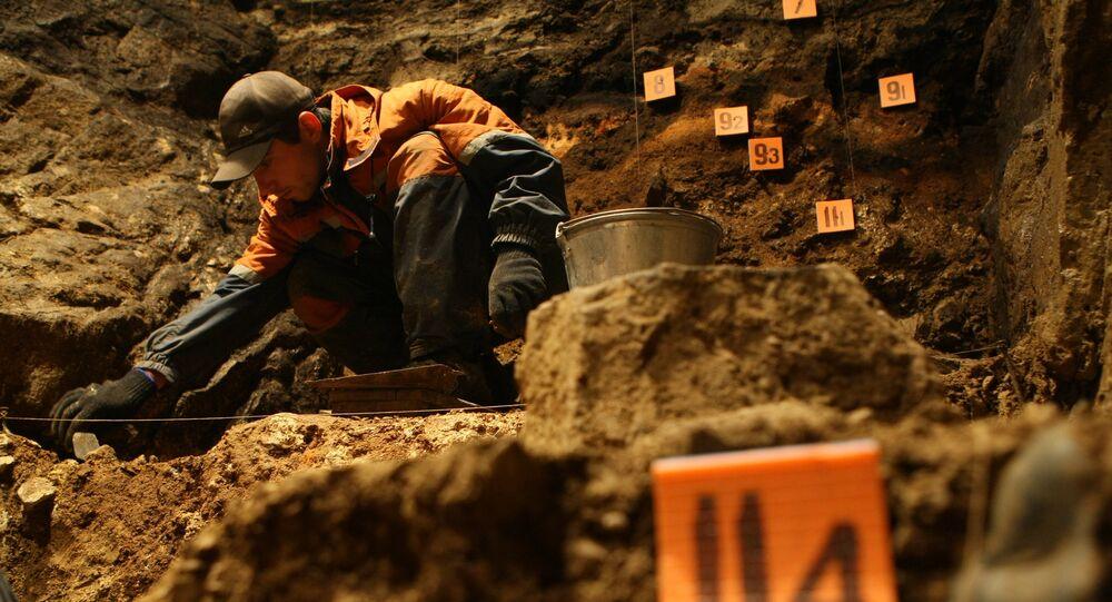 Un archéologue (image d'illustration)