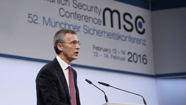 Jens Stoltenberg, secrétaire général de l'OTAN lors de la Conférence sur la sécurité de Munich - Sputnik France
