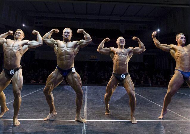 Des bodybuilders, l'image d'illustration