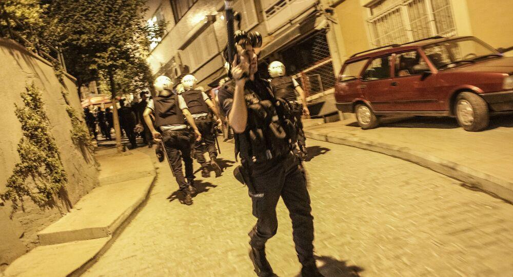 Affrontements entre la police et des manifestants à Istanbul, photo d'archives