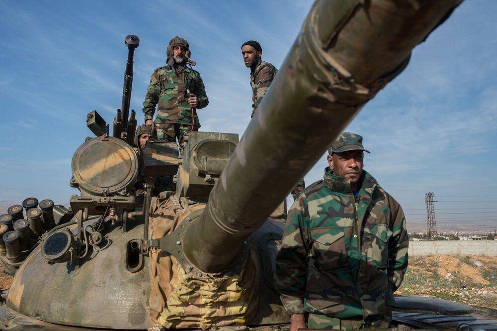 La formation de volontaires en Syrie