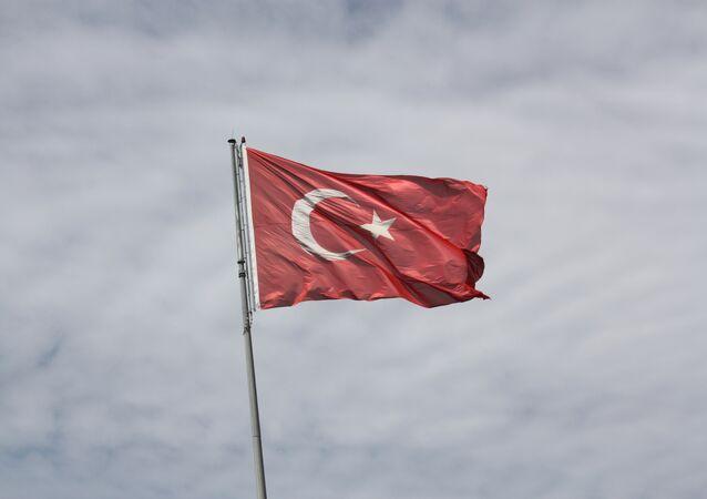 Bandera de Truquía