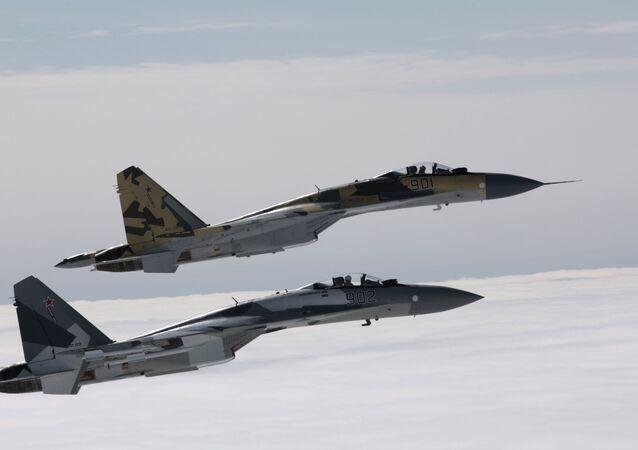 Des chasseurs russes Su-35