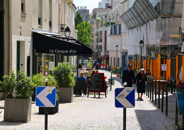 les rues de Paris
