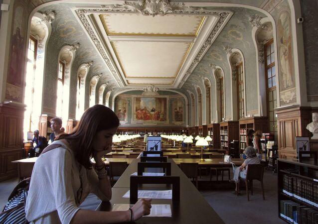 bibliothèque de Sorbonne