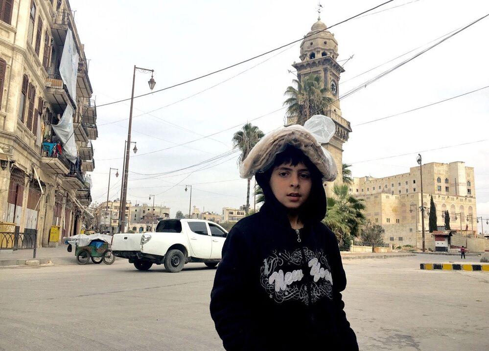 Les ruines de l'ancienne ville d'Alep
