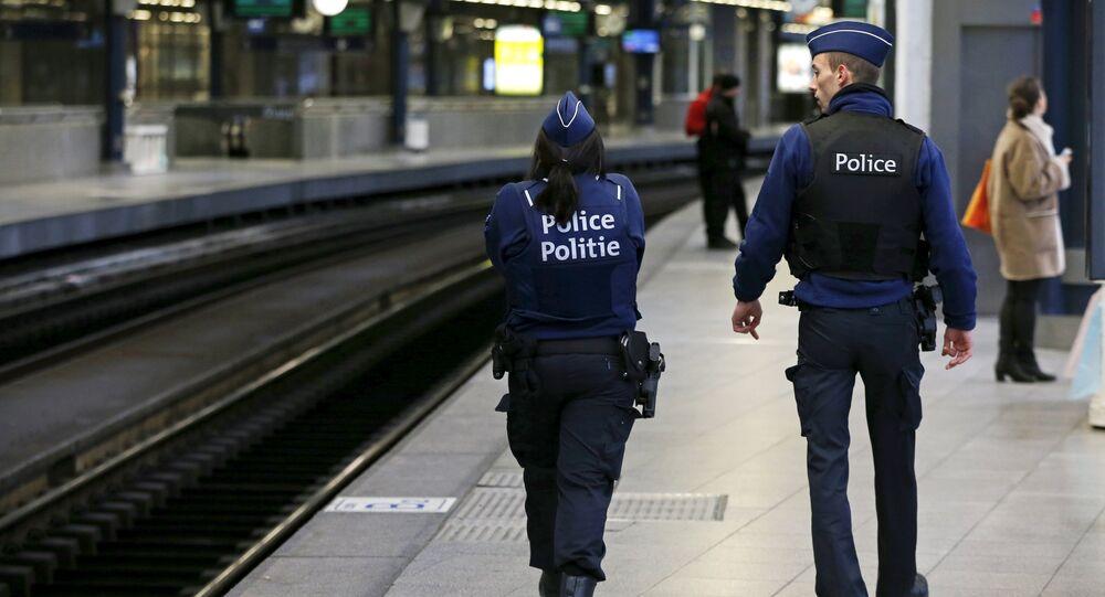 Policiers belges