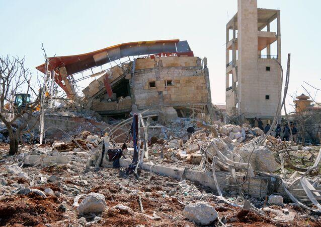 Un hôpital soutenu par MSF dans la province syrienne d'Idlib