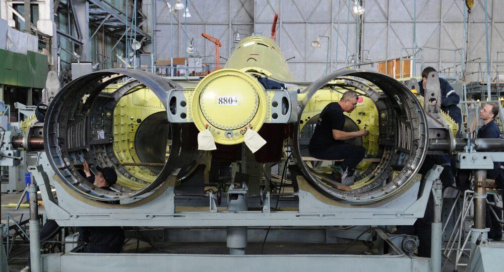 Soukhoï est l'un des principaux constructeurs d'avions militaires russes