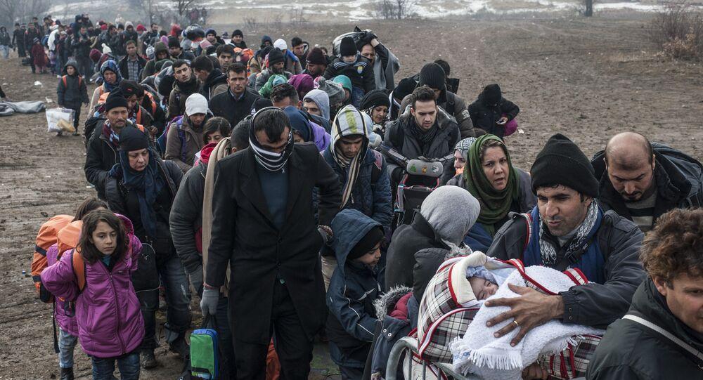 Réfugiés, image d'illustration