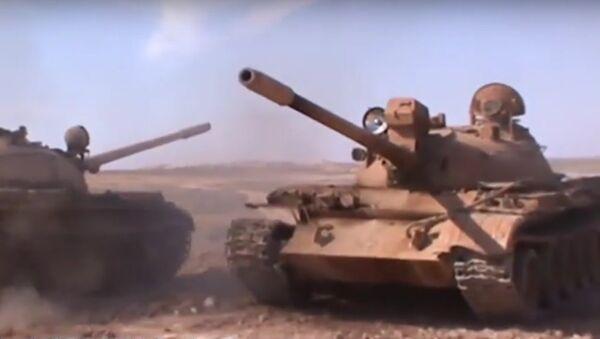 L'armée d'Assad attaque la capitale de Daech - Sputnik France
