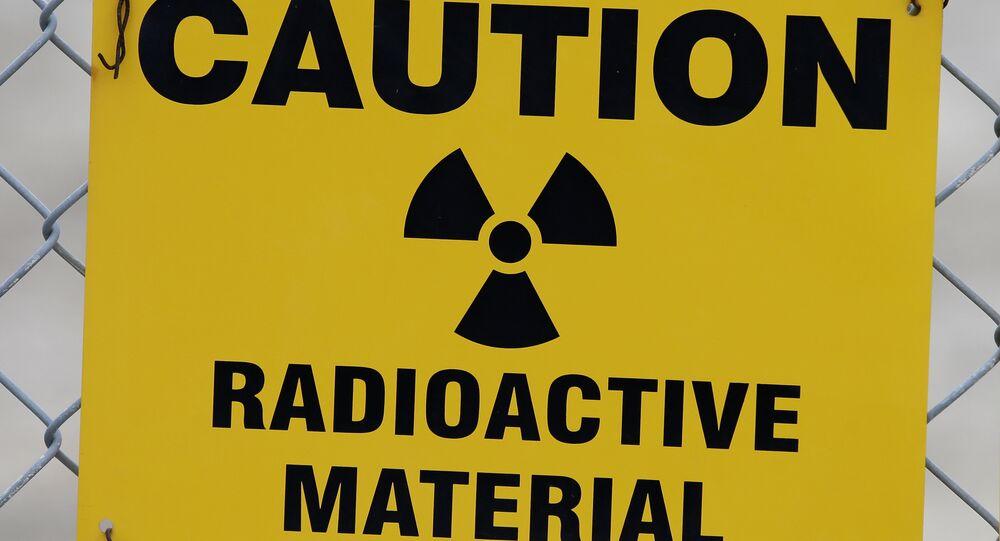 Des matières radioactives