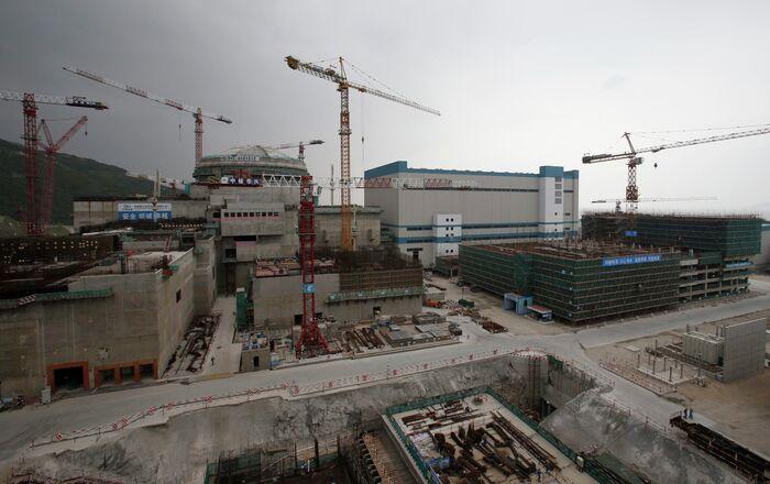 Un réacteur de la centrale nucléaire de Taishan