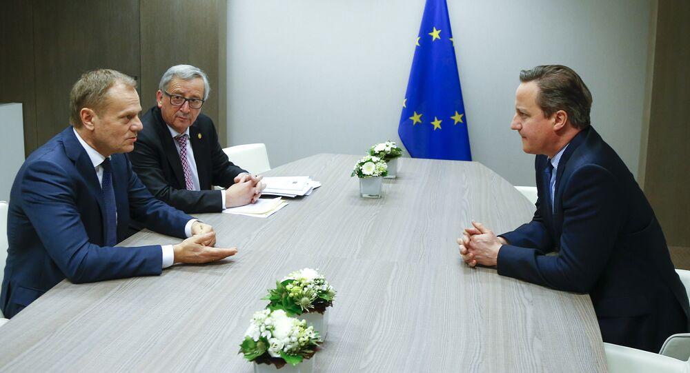 les négociations avec Londres sur le maintien du Royaume-Uni dans l'UE