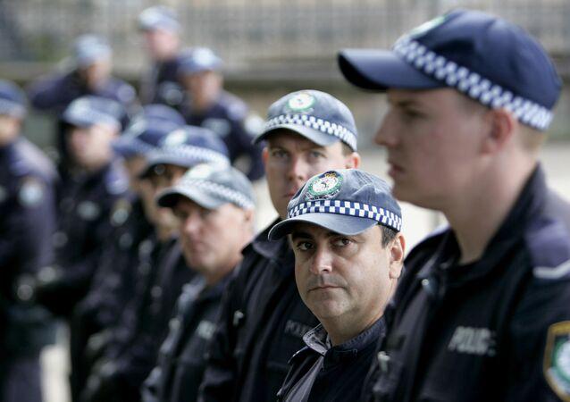 La police australienne