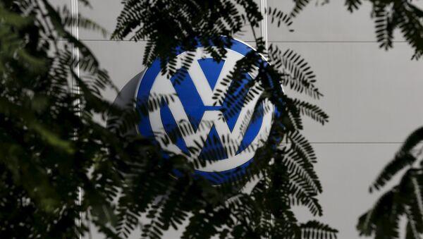 A logo of VW - Sputnik France