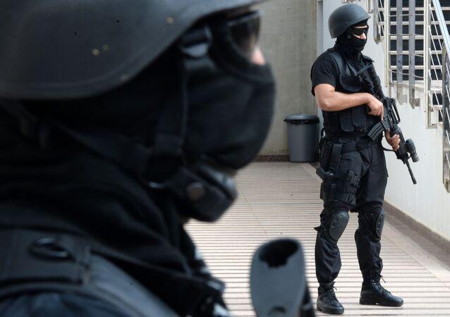 Les forces du BCIJ marocain