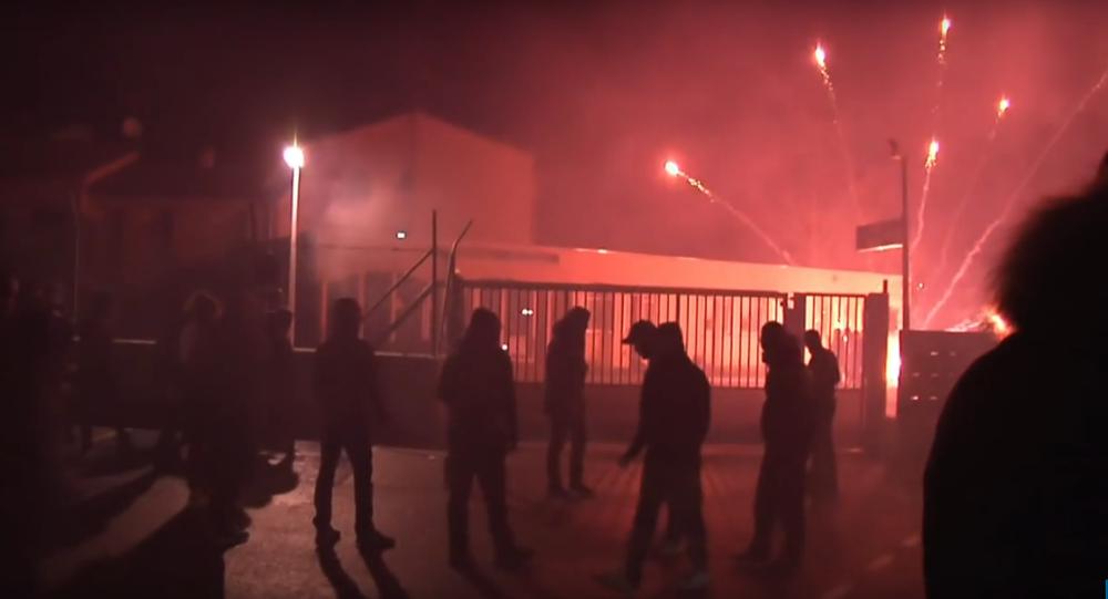 Incidents à Corte entre manifestants et gendarmes mobiles