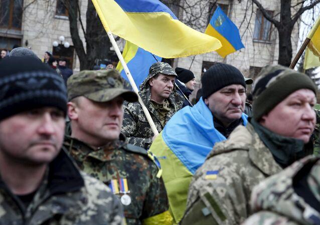 Manifestation antigouvernementale à Kiev