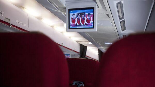 Une vidéo à bord d'Air Koryo - Sputnik France