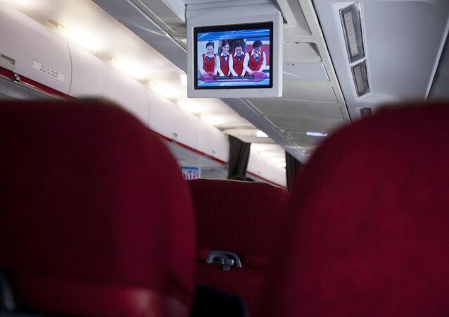 Une vidéo à bord d'Air Koryo