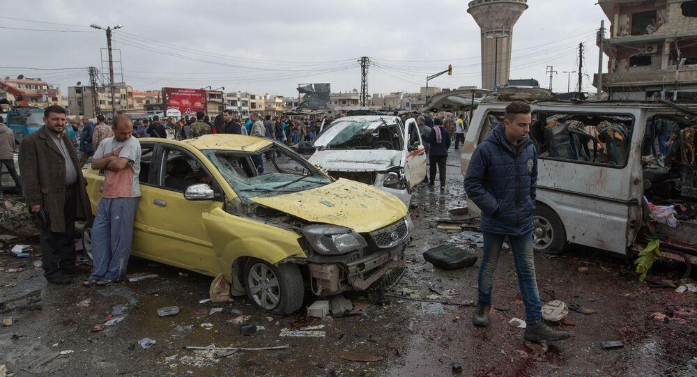 Double attentat à Homs, le 21 février 2016
