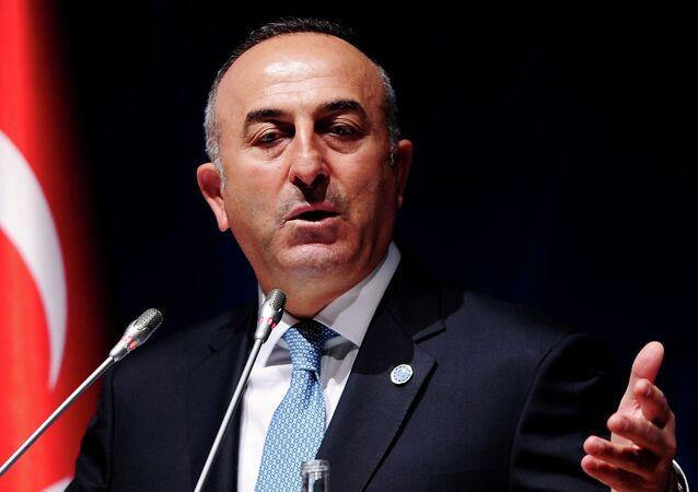 Ministre turc des Affaires étrangères  Mevlut Cavusoglu