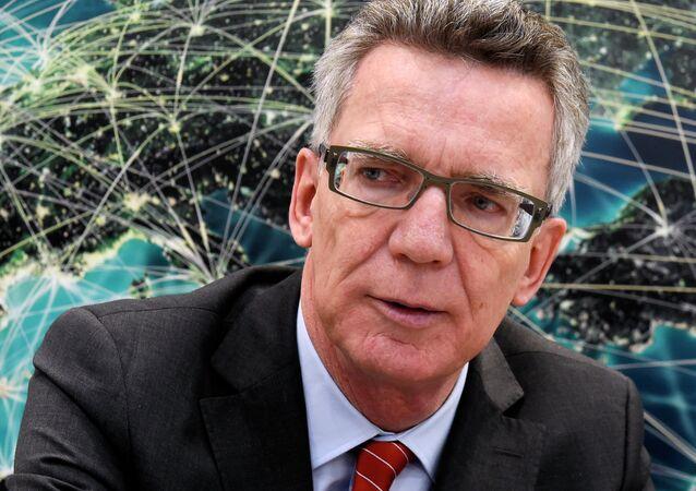 Le ministre allemand de l'Intérieur Thomas de Maizière