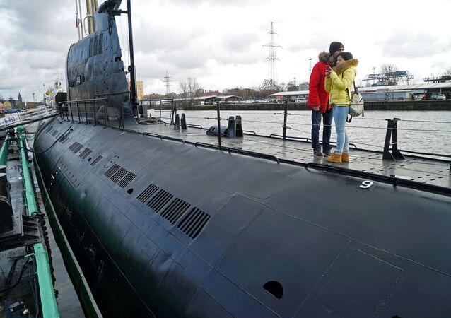Le sous-marin B-413 unique en son genre