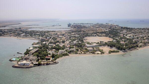 An aerial view of Djibouti - Sputnik France