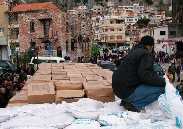 Livraisons de l'aide humanitaire en Syrie