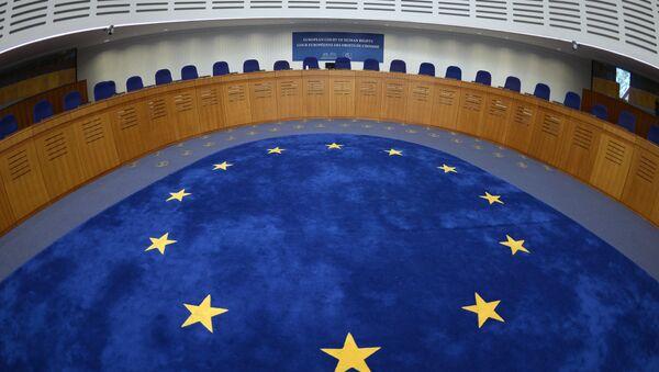 La Cour européenne des droits de l'homme (CEDH) - Sputnik France