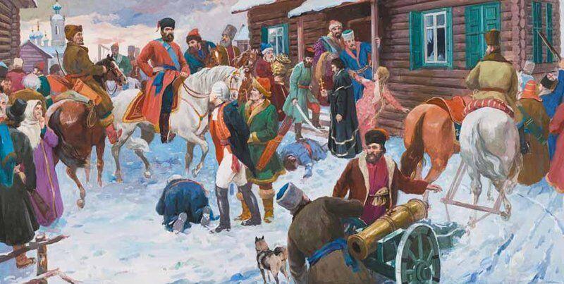 La rébellion de Pougatchev (1772-1774).