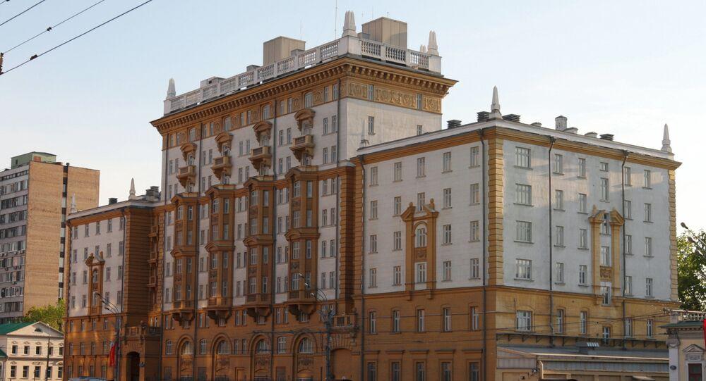L'ambassade des Etats-Unis à Moscou