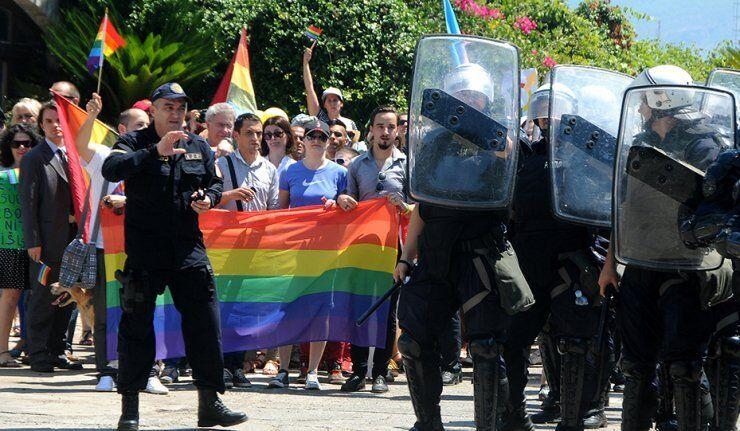 La Gay Pride au Monténégro accompagnée d'incidents