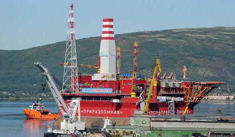Gazprom a commencé la production du pétrole au gisement Prirazlomnoïé