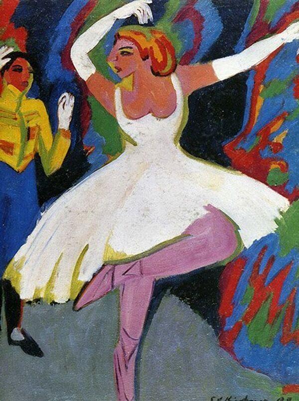 Ernst Ludwig Kirchner Danseuse russe - Sputnik France