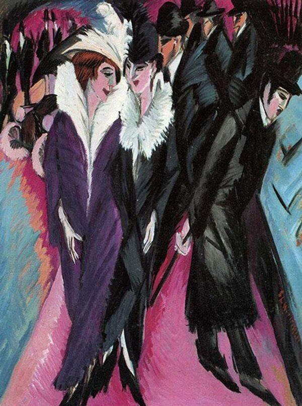 Ernst Ludwig Kirchner Scène de rue - Sputnik France