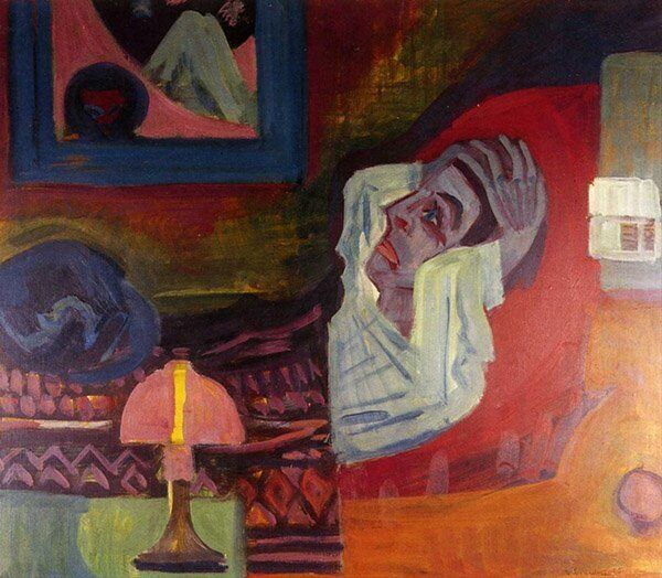 Ernst Ludwig Kirchner Malade dans la nuit - Sputnik France